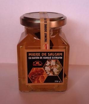 Miere de salcam cu baton vanilie